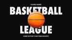 Basketball League Nike  PowerPoint image 1