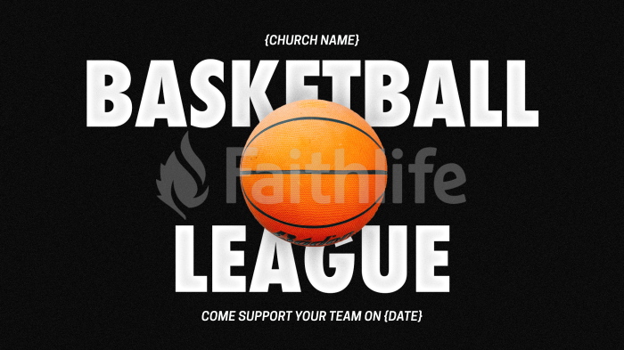 Basketball League Nike large preview