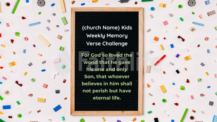 Weekly Memory Verse Challenge large preview