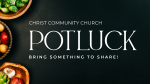Church Name Potluck  PowerPoint image 1