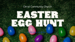 Church Name Easter Egg Hunt  PowerPoint image 1
