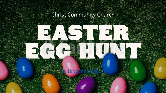 Church Name Easter Egg Hunt large preview