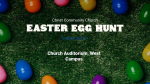 Church Name Easter Egg Hunt  PowerPoint image 3