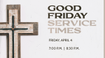 Good Friday Service Times  PowerPoint image 5