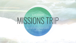 Location Missions Trip Blue  PowerPoint image 1