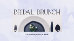 Bridal Brunch  PowerPoint image 2