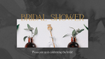 Bridal Shower Candle  PowerPoint image 1