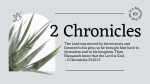 2 Chronicles Olive  PowerPoint image 1
