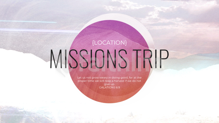 Location Missions Trip Purple large preview