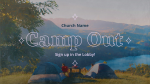 Church Camp Out  PowerPoint image 1