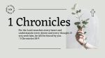 1 Chronicles Olive  PowerPoint image 1