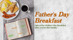 Father's Day Breakfast Coffee  PowerPoint image 1