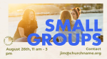 Small Groups Sunny  PowerPoint image 3