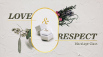 Love & Respect Marriage Class  PowerPoint image 1
