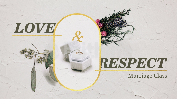 Love & Respect Marriage Class large preview