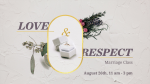 Love & Respect Marriage Class  PowerPoint image 3