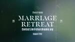 Church Name Marriage Retreat White  PowerPoint image 3