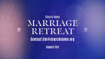 Church Name Marriage Retreat Blue  PowerPoint image 3
