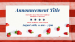 4th of July Flag Berry  PowerPoint image 2
