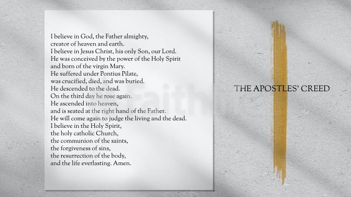 Apostles Creed Stroke large preview