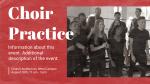 Choir Practice Orange  PowerPoint image 2