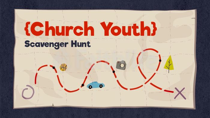Scavenger Hunt Map large preview