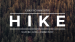 Nature, God, Community  PowerPoint image 1