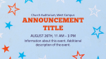 4th of July BBQ Star  PowerPoint image 2