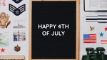 Happy 4th of July Board  PowerPoint image 1