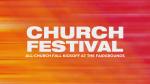 Church Festival Gradient  PowerPoint image 1