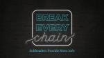 Break Every Chain  PowerPoint Photoshop image 19