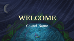 God Is In Control welcome 16x9 PowerPoint Photoshop image