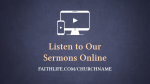 Reformation 500 sermons online 16x9 PowerPoint Photoshop image