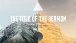 Historical Books of the Bible sermon title 16x9 PowerPoint Photoshop image