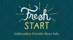 Fresh Start  PowerPoint Photoshop image 23