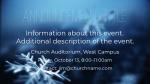 Blue Winter Snow  PowerPoint Photoshop image 2