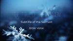 Blue Winter Snow  PowerPoint Photoshop image 3