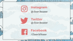 Grace Upon social media 16x9 PowerPoint image