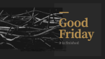 Good Friday: It is Finished  PowerPoint Photoshop image 1