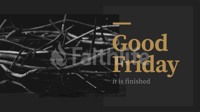 Good Friday: It is Finished large preview