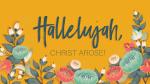 Hallelujah, Christ Arose arose! 16x9 PowerPoint Photoshop image