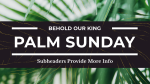 Palm Sunday: Behold Our King  PowerPoint Photoshop image 21