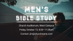 Men's Bible Study Lake  PowerPoint image 1