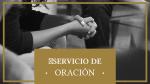 Prayer Service  Gold servicio de oración 16x9 PowerPoint image