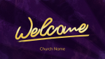 Holy Spirit, Come welcome 16x9 PowerPoint Photoshop image
