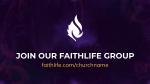 Holy Spirit, Come faithlife 16x9 PowerPoint Photoshop image