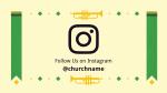 Hallelujah Kente instagram 16x9 PowerPoint Photoshop image