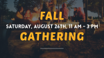 Fall Outdoor Gathering  PowerPoint image 1