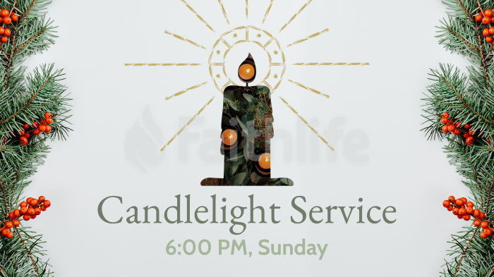 Candlelight Service Stand Alone large preview
