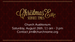 Christmas Eve Service Times announcement 1 PowerPoint Photoshop image